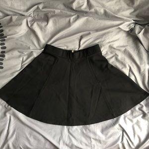 Black Circle Skirt H&M